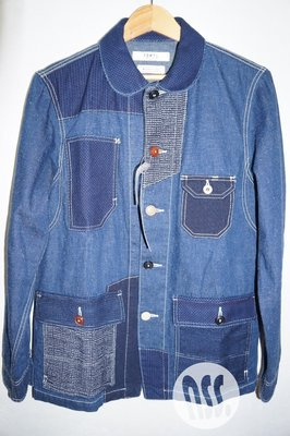 「NSS』FDMTL PATCHWORK COVERALL RINSE 2