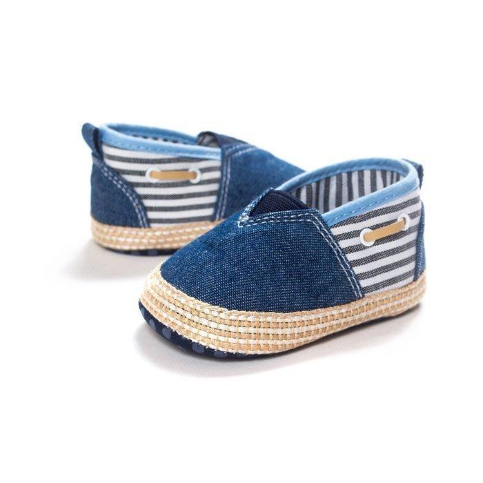 寶貝倉庫~牛仔休閒鞋~學步鞋~寶寶鞋~嬰兒鞋~娃娃鞋~學走鞋~幼兒鞋~童鞋~彌月贈禮~鬆緊帶設計~坐螃蟹車穿