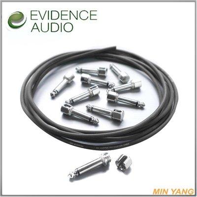【民揚樂器】 短導線 Evidence Audio SIS Monorail 免焊螺紋接頭 效果器用