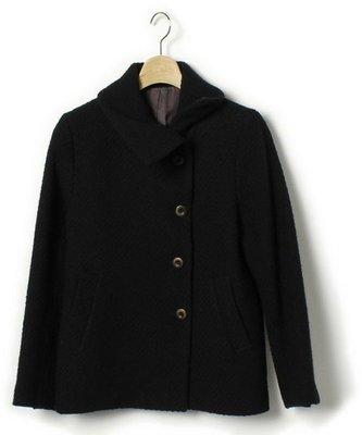 日本NOMBRE IMPAIR 收藏家95%羊毛歐美簡約外套 絲滑內裡質感外衣(NO.1201)