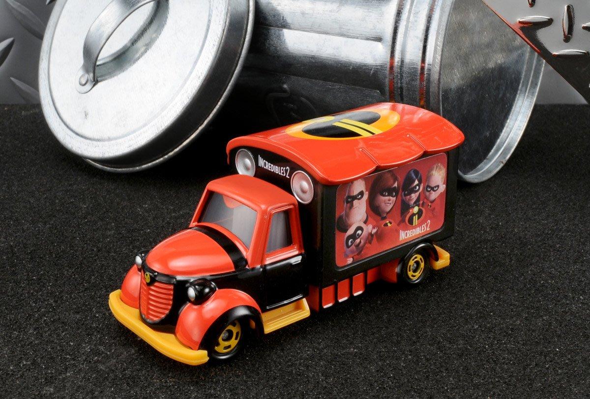 TOMICA 多美 迪士尼小汽車 超人特攻隊2 宣傳車 (114147)