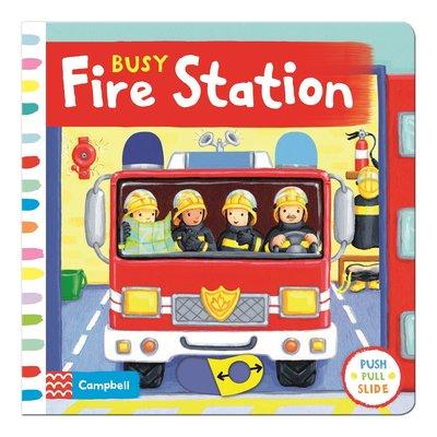 *小P書樂園*Busy Fire Station