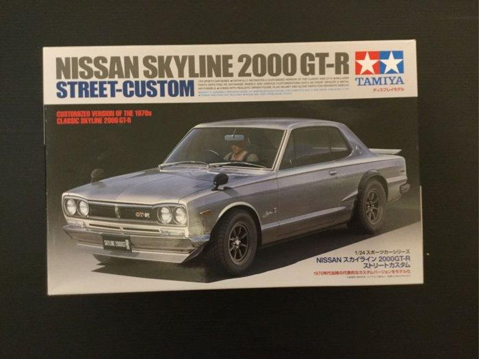 COME 玩具 TAMIYA 田宮 NISSAN SKYLINE 2000 GT-R 需自行組裝