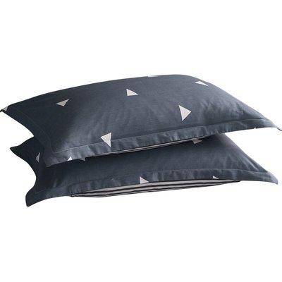 【ulker_801營業中】北極絨枕套一對裝單人純棉枕頭套情侶全棉枕頭罩48x74整頭枕芯套