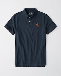 Abercrombie&Fitch Signature Exploded Icon Polo衫