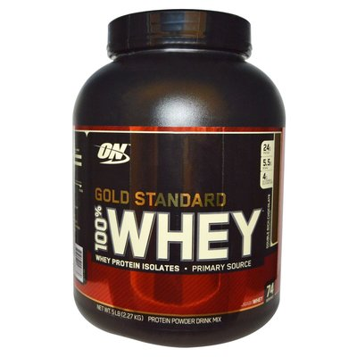 【CZ】美國銷售冠軍Optimum Nutrition, 金牌100% 乳清蛋白巧克力5 lbs (2.27 kg)