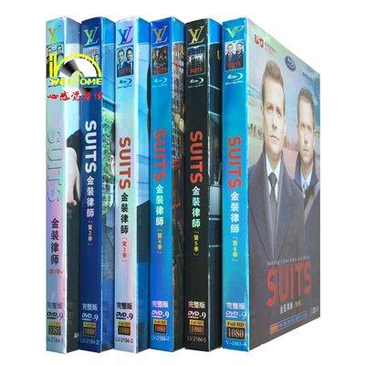 【天天看音像店】 美劇高清DVD Suits 金裝律師 1-6季 完整版 18碟裝DVD 精美盒裝