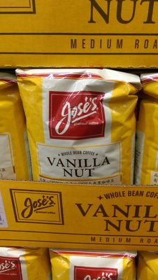 代購好市多COSTCO線上 商品~JOSE'S 香草咖啡豆1.36kg/包*2