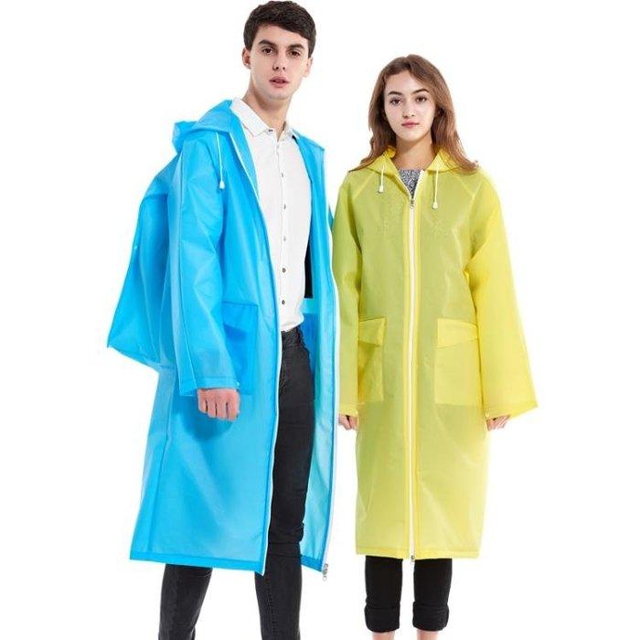 捷達新品成人背包雨衣女長款戶外徒步旅行男防水拉鏈大碼雨披 js943