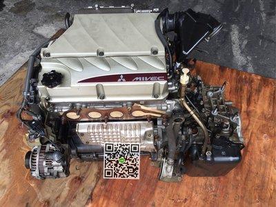 日本外匯 三菱 SAVRIN  GRUNDER 2.4 4G69引擎 變速箱
