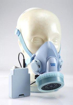 [樂農農] 防毒面具 經濟電池型 盛將出品 Power Mask  電動送風防護面具 SA-202 電池型 電動送風口罩
