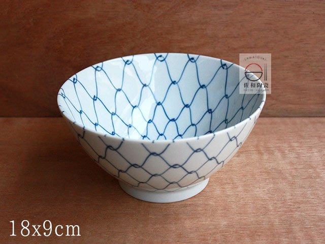 +佐和陶瓷餐具批發+【XL08064-9 / 網目18cm井-日本製】日本製 網目系列 碗缽 井 麵碗