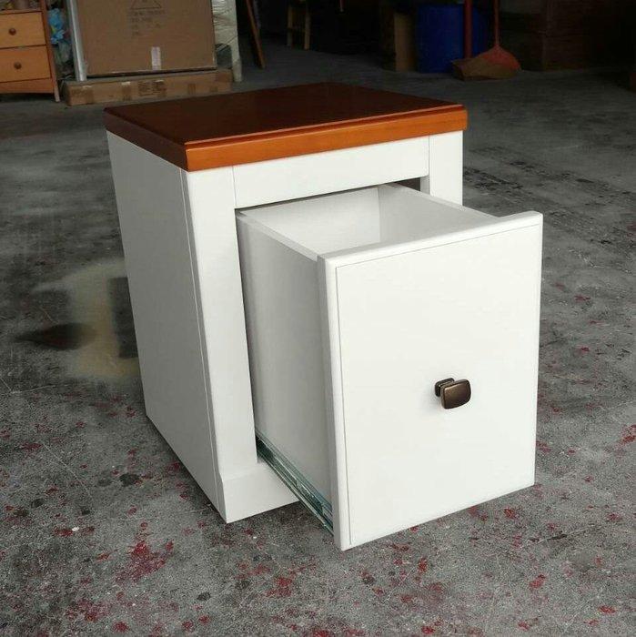 美生活館--全新鄉村田園地中海普羅旺斯風格 茵儷 雙色單抽收納櫃 穿鞋櫃 花台 花架 坐櫃 也可修改尺寸與顏色