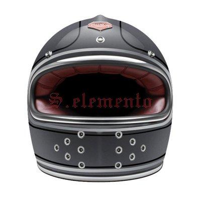 【預購優惠】Ateliers Ruby 安全帽 Castel ECE Matignon 碳纖維 全罩 復古帽