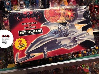 ArtLife @ DC KENNER 1997 JET BLADE BATMAN 蝙蝠俠 噴射飛機 飛艇 絕版老玩具