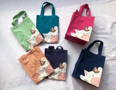 日本卡拉貓~虎牙喵防水手提袋...
