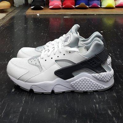 NIKE AIR HUARACHE 武士鞋 全白 白色 灰色 白武士 有女段 318429-103