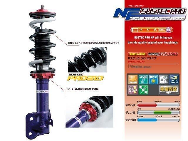 日本 Tanabe NF Sustec PRO 避震器 Lexus 凌志 LS400 94-00 專用