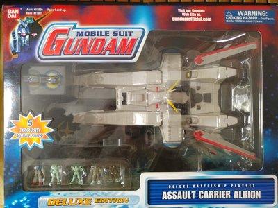 Bandai 高達 Mobile Suit Gundam Deluxe Battleship Assault Carrier Albion