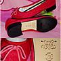 甜甜妞妞小舖 ☆ 品牌  KarryO  紅色蝴蝶結馬毛女鞋--圓頭低跟娃娃包鞋--39號