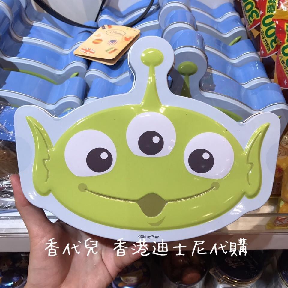 香港 迪士尼代購 Disney 玩具總動員 三眼怪 曲奇餅 餅乾盒  (香代兒)