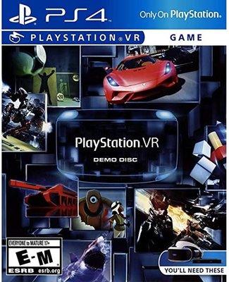 窩美 PSVR PS4 遊戲 VR遊戲體驗 PS VR DEMO DISC 7合1