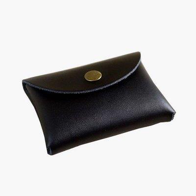 【 純手工製作 小牛皮 迷你錢包 名片夾(包)黑色 】新品現貨。質感佳、觸感細緻、純牛皮手工製作。耐磨實用,輕巧好攜帶。