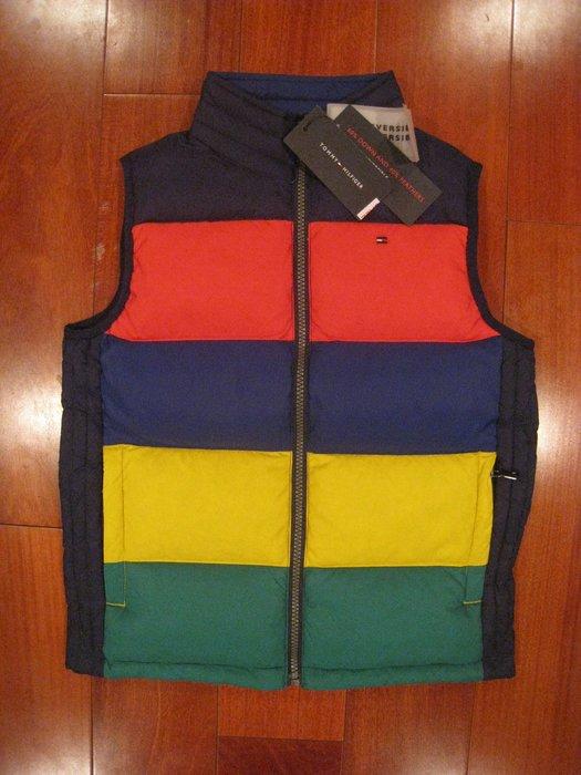 Tommy Hilfiger 男童保暖背心 尺寸S #雙面穿