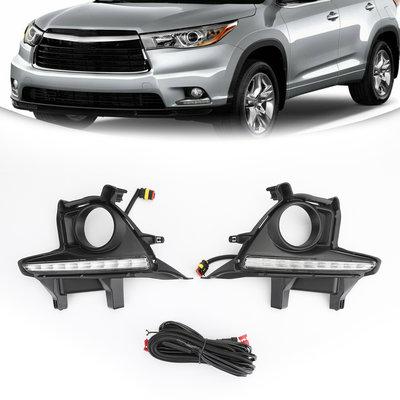 Toyota Highlander 2014-2016 LED保險槓霧燈-極限超快感