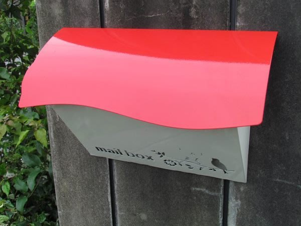 ☆成志金屬☆不鏽鋼小筒信箱,款式新穎,輕巧亮麗,顏色可選,試賣特價