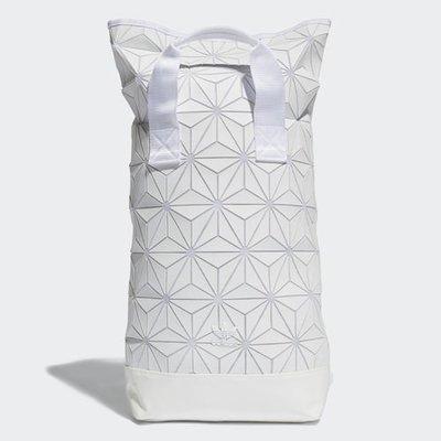 【Footwear Corner 鞋角】Adidas Roll 3D Backpack White 3D菱格立體後背包