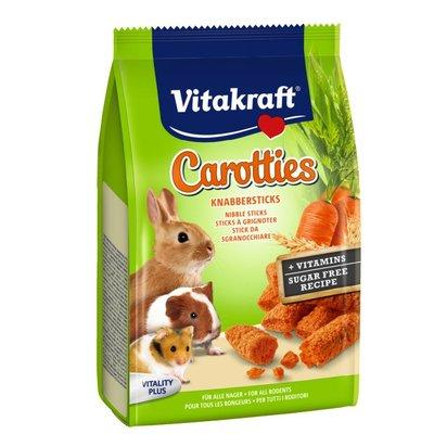 SNOW的家【訂購】德國 Vitakraft Vita 小動物用 兔子 卷心酥-胡蘿蔔 50g (80030144