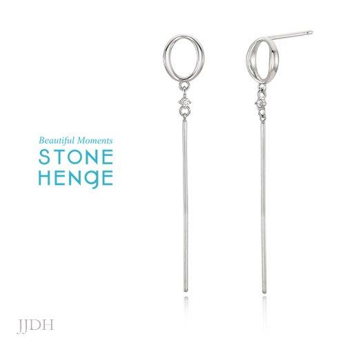 JJDH‧Jing Jing Design House‧ 朴敏英全智賢申敏兒劉寅娜 Stonehenge 耳環 173
