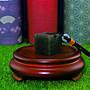 ㊣㊣ 印皇閣 ㊣㊣ 丹東 - 墨綠凍 - 職人手磨 - 限料手切 - 隨身私章 - 磚形印 (MH-05)