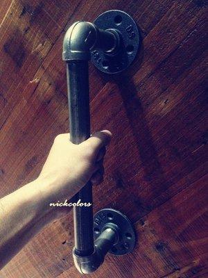 尼克卡樂斯~工業風不鏽鋼水管門把訂製 ...