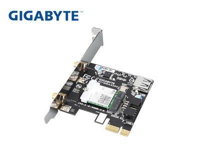 「阿秒市集」技嘉 GC-WBAX200 無線網卡 PCI-E 2400M 2dBi 可拆天線 AX雙頻 藍牙5.0