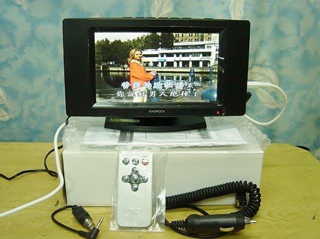 【小劉二手家電】全新EXEMODE 7吋液晶螢幕,附遙控器,車充,家充,AV訊號線,可外接監視器/DVD