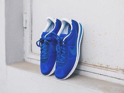 (阿信)NIKE CORTEZ ULTRA BR 寶藍 藍白 阿甘潮鞋 呼吸 復古 網孔 男潮鞋 833128-401 新竹市
