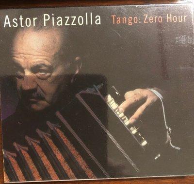 *愛樂熊貓*1998德版TAS名盤(紙盒首版絕版)Astor Piazzolla皮耶佐拉ZERO HOUR/新探戈五重奏