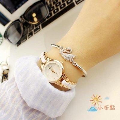 流行女錶手鍊錶女手錶正韓簡約女士手錶女時尚潮流女錶學生防水女生石英錶AMSS