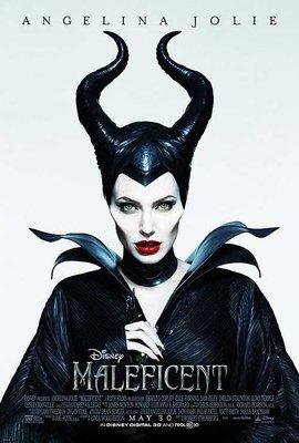 黑魔女:沉睡魔咒 (Maleficent) - 安潔莉娜裘莉 - 美國原版雙面電影海報 (2014年)