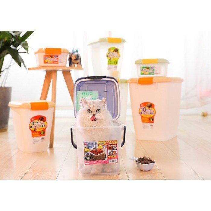 【🐱🐶培菓寵物48H出貨🐰🐹】IRIS《飼料/零食》密封箱/飼料桶MFS-4_約放4kg 促銷價 特價369元