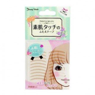 樂婕 Beauty World 雙眼皮貼 素肌美人 膚色 自然款30對入