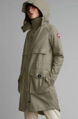 [預購] 美加空運 保證正品 Canada Goose calvary coat 頂級防風防雨大衣風衣卡其軍綠灰綠