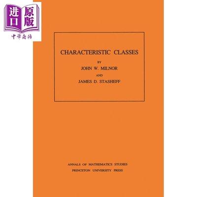 預售 示性類 Characteristic Classes 英文原版 約翰米爾諾 John Milnor James D Stasheff