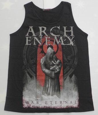 【Mr.17】Arch Enemy 邪神大敵樂團 旋律死亡金屬 搖滾龐克背心無袖吊嘎黑背心團背心(HE574)