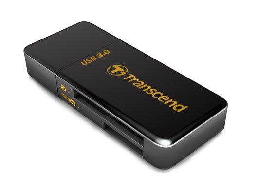...點子電腦-北投...全新◎創見 TRANSCEND RDF5 USB 3.0 多合一讀卡機◎250元