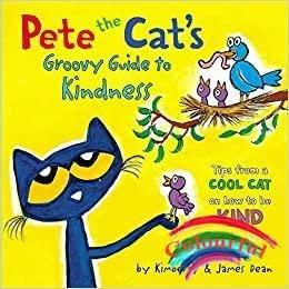 英文原版繪本Pete the Cat's Groovy Guide to Kindness皮特貓的善良絕妙指南 兒童啟蒙認知英語閱讀圖畫書0-3-6歲 Jame