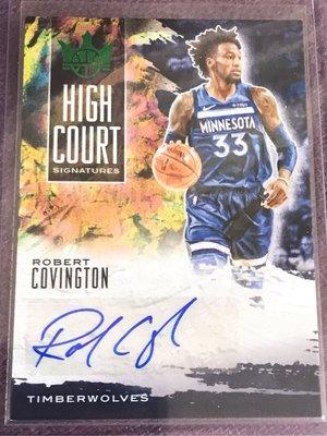 2019-20 court king 簽名卡 灰狼隊 Robert Covington 限量25張