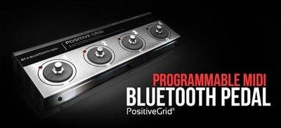 絕地音樂樂器中心 免運費 Positive Grid BT-4 藍芽 控制踏板 Bias FX